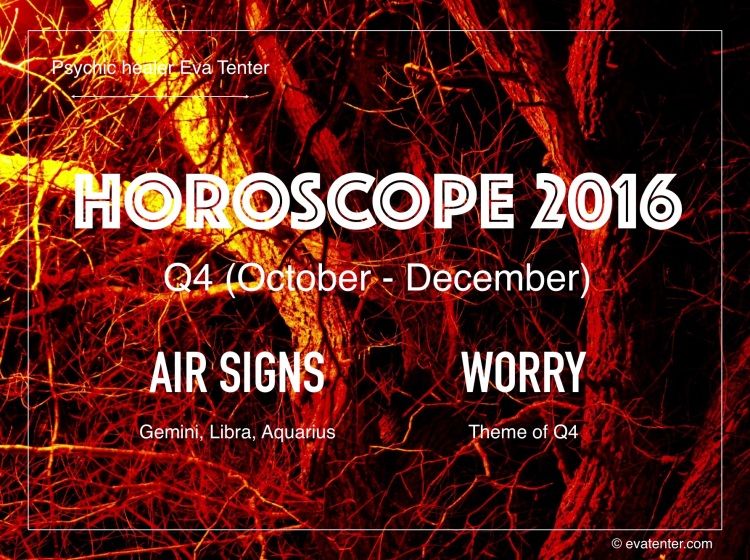 horoscope 2016 q4 air signs