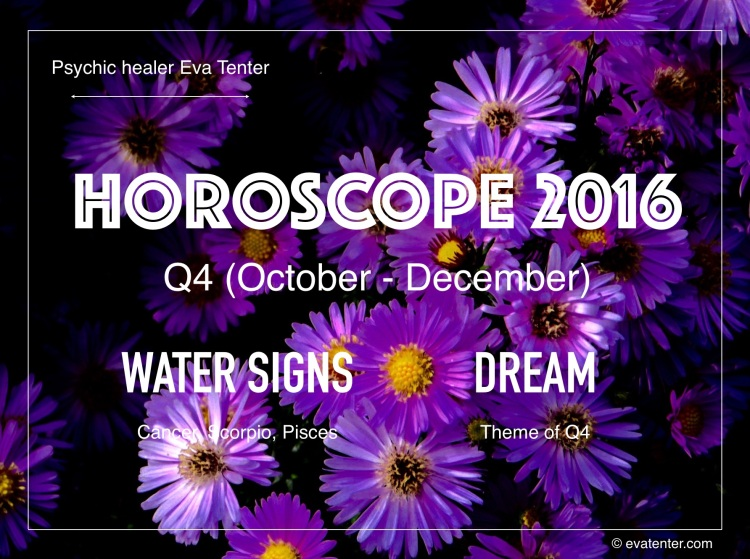 horoscope 2016 q4 water signs