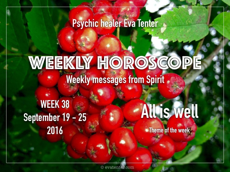weekly horoscope 38
