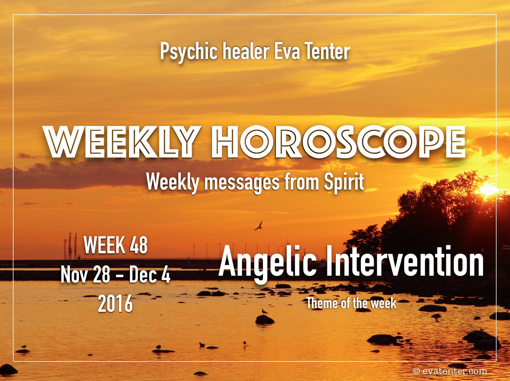 Current weekly horoscope