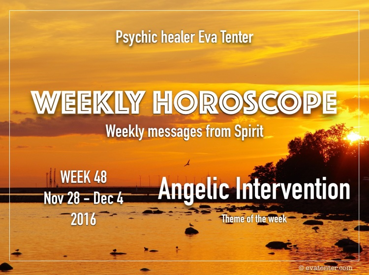 weekly horoscope week 48 2016