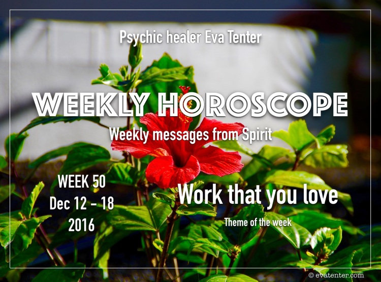 weekly horoscope week 50 2016
