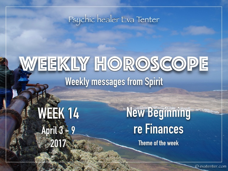 Weekly Horoscope April 3 9 2017