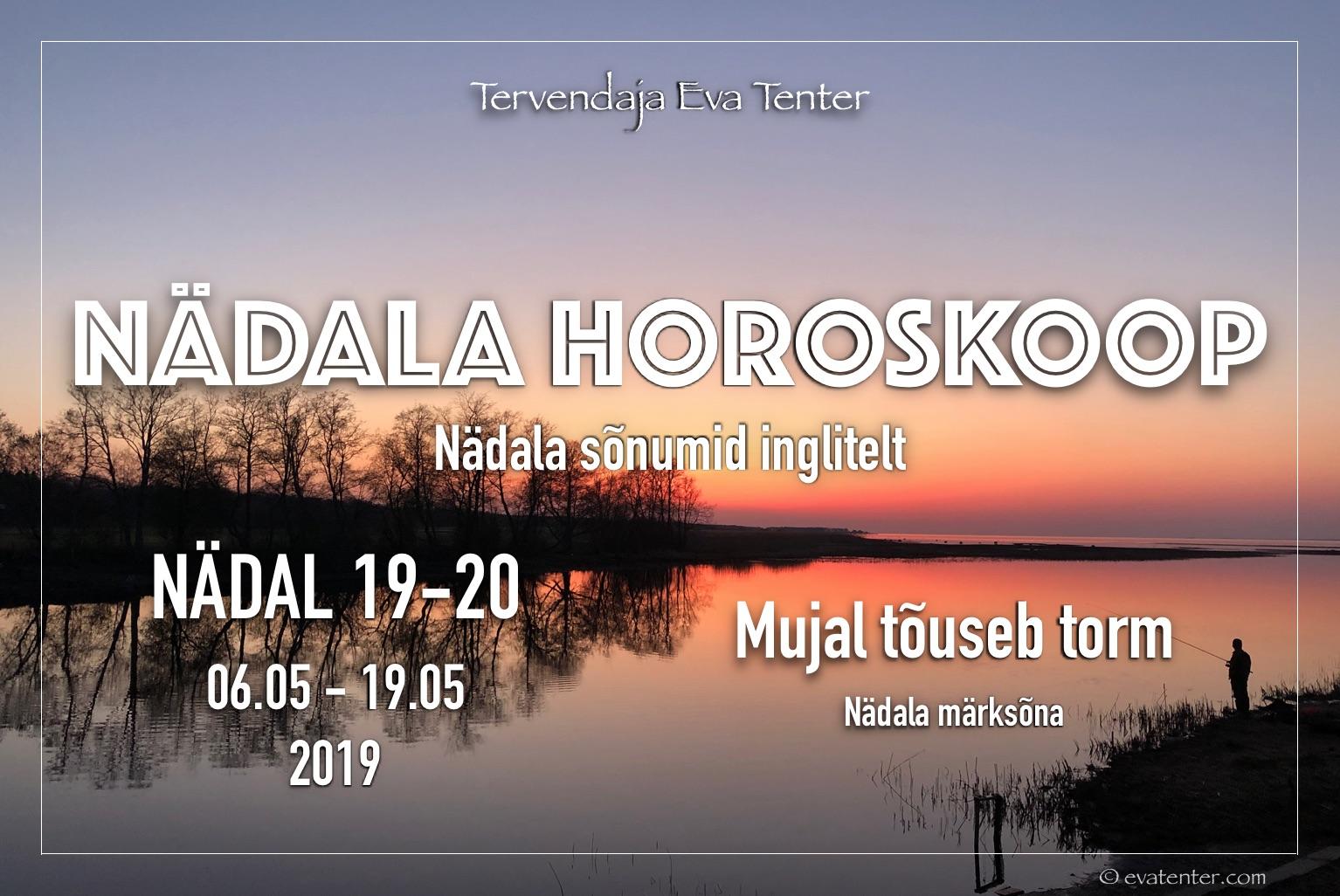Nädala horoskoop 06.05-19.05.2019